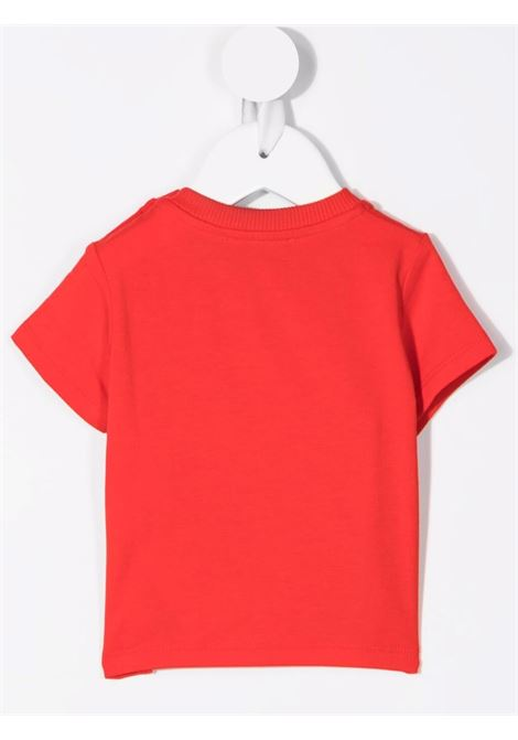 moschino tshirt con stampa orsetto MOSCHINO BABY | Tshirt | M9M02ALBA1250109