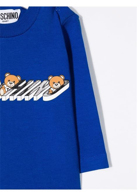 moschino tshirt con stampa orsetti MOSCHINO BABY | Tshirt | M9O000LBA1940457