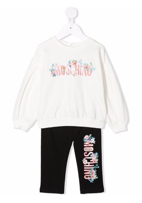 moschino felpa con leggins stampa fiori MOSCHINO BABY | Completo | MAK01ILDA1683933