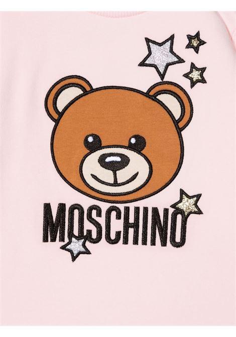 moschino abito con orsetto con stelle MOSCHINO BABY | Abito | MDV09ALDA1651664