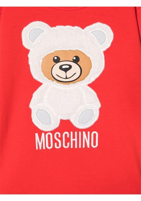 moschino abito con orsetto MOSCHINO BABY | Abito | MIV05TLDA1650109