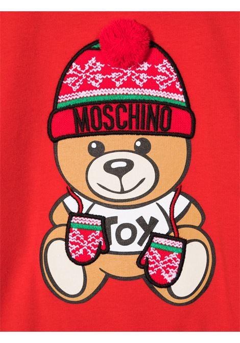 moschino abito con orsetto natale MOSCHINO BABY | Abito | MLV05TLDA1450109