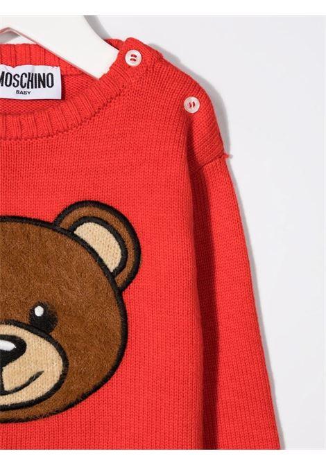 moschino maglia con orsetto MOSCHINO BABY | Maglia | MNW00JLHE0950109