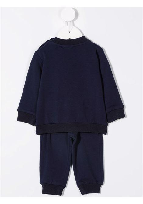 moschino felpa con pantalone scritta logo fluo MOSCHINO BABY   Completo   MOK02PLDA1640016