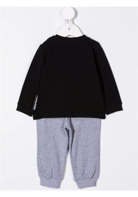 moschino pantalone con tshirt ml con stampa orsetto MOSCHINO BABY   Completo   MPK02FLBA1282213