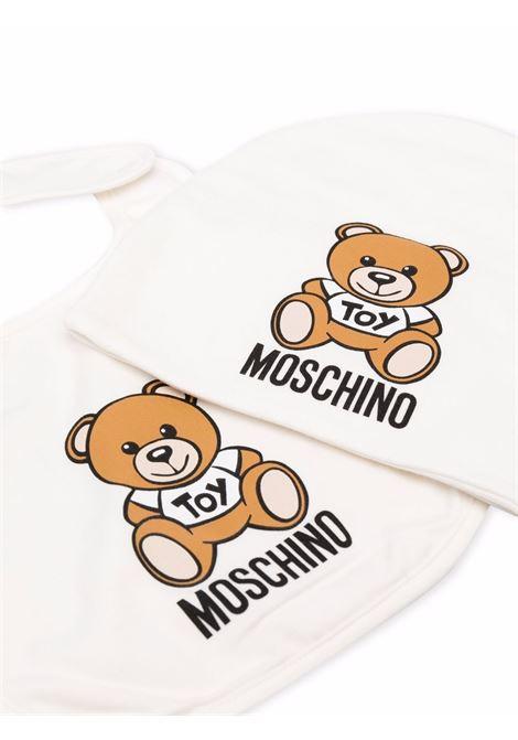 moschino cappellino con orsetto MOSCHINO BABY | Set accessori | MQY00XLDA1410063