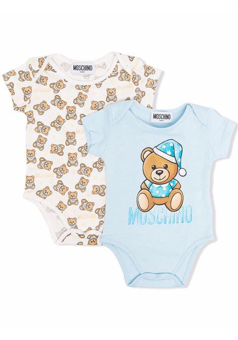 moschino set due body all orsetti MOSCHINO BABY | Set body | MTY017LAB2640304