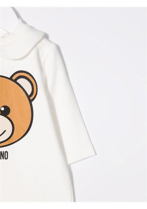 moschino tutina con stampa orsetto MOSCHINO BABY | Tutina | MUT02DLDA1410063