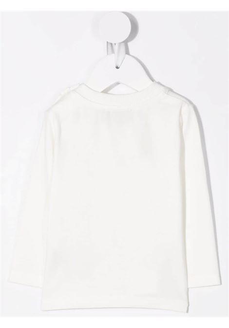 moschino tshirt con stampa orsetto con dondolo MOSCHINO BABY | Tshirt | MWO005LBA2210063