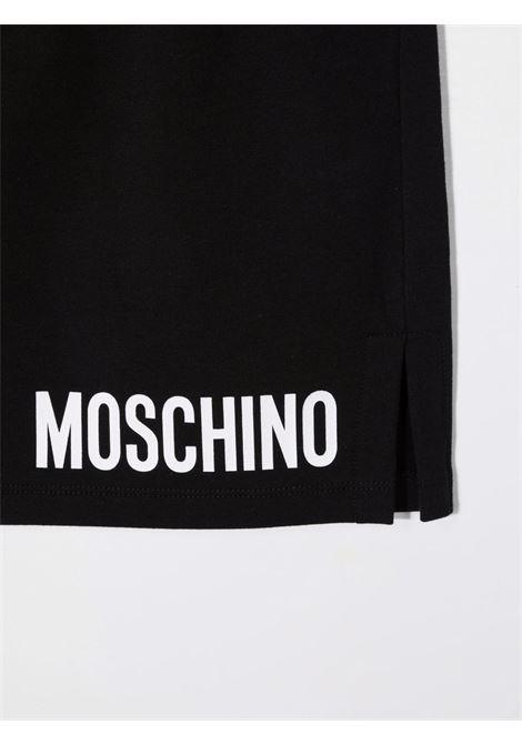 moschino gonna in felpa stampa logo MOSCHINO KIDS | Gonna | HAJ01TLDA2660100