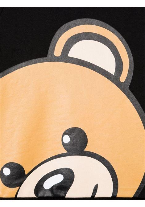 moschino abito stampa all orsetto MOSCHINO KIDS | Abito | HAV09LLDA1660100