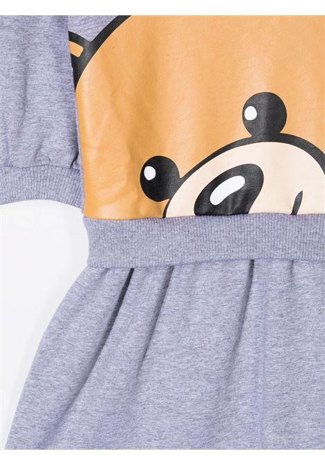 moschino abito stampa all orsetto MOSCHINO KIDS | Abito | HAV09LLDA1660901