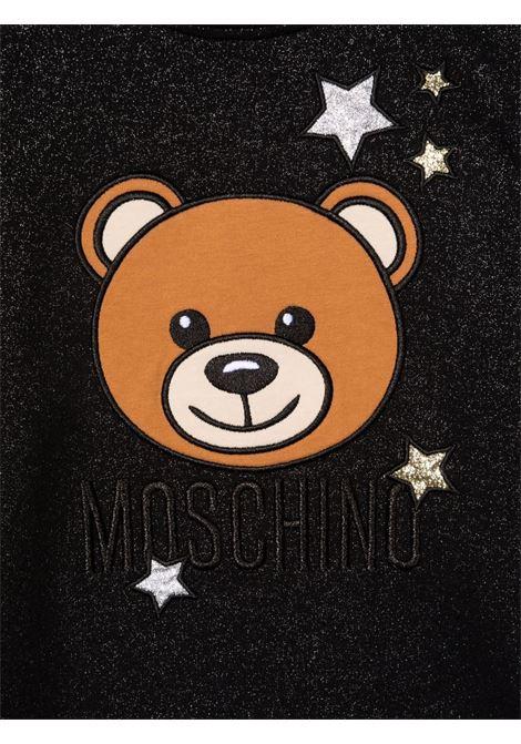 moschino abito stampa orsetto stelle MOSCHINO KIDS | Abito | HDV0ASLCA2560100