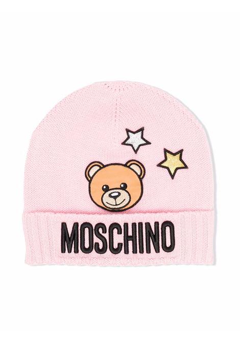 moschino cappello stampa orsetto e stelle MOSCHINO KIDS | Cappello | HDX011LHE1851664
