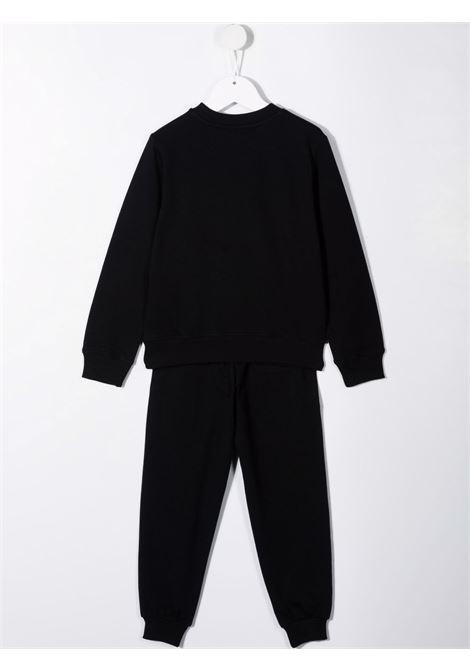 moschino felpa con pantaloni stampa orsetti MOSCHINO KIDS | Completo | HUK02JLDA1860100