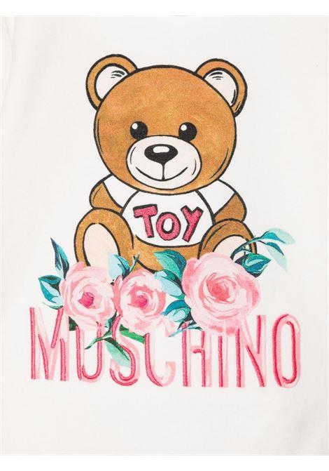 moschino tutina con orsetto e fiori MOSCHINO BABY | Tutina | MDY00OLDA1610063