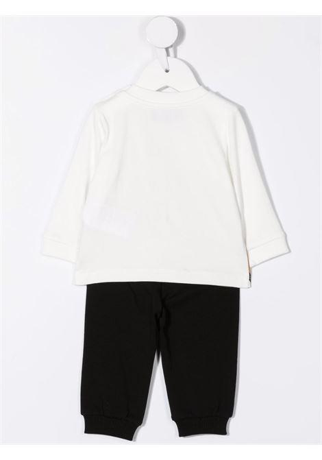 moschino pantalone con tshirt ml con stampa orsetto MOSCHINO BABY | Completo | MPK02FLBA1283965