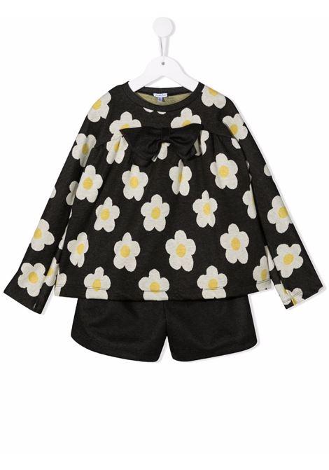 piccola ludo completo blusa lorettae shorts cioccolato PICCOLA LUDO | Completo | BS6WB051WB04794