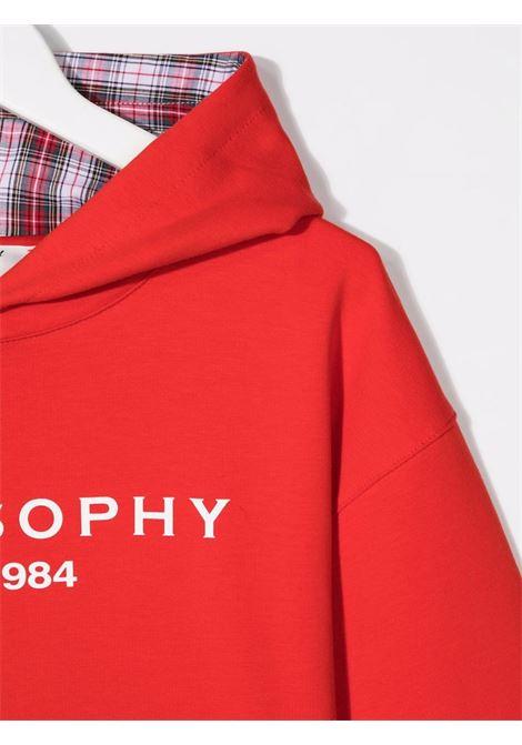 philosophy kids lpa con cappuccio stampa logo Philosofy kids | Felpa | PJFE60FE147YP0053005