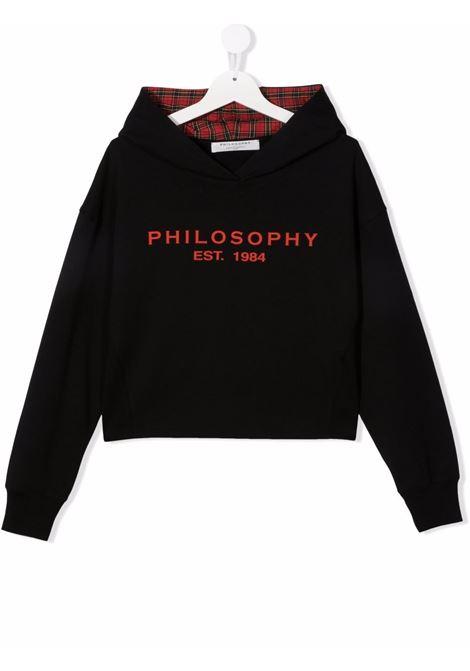 philosophy kids   felpa con cappuccio stampa logo Philosofy kids | Felpa | PJFE60FE147YP005N015T