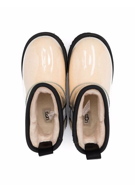 ugg  boots kids classic clear mini ii UGG AUSTRALIA KIDS | Boots | 11123B6KNBLC