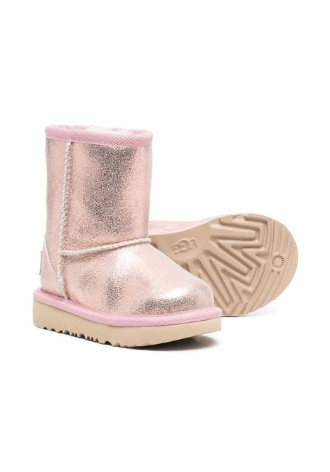 ugg classic i metallic glitter UGG AUSTRALIA KIDS | Boots | 1123663TPNK