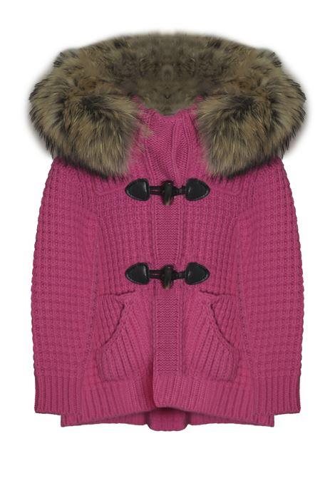 bark short duffle coat fur Bark | Giubbino | PA3000279