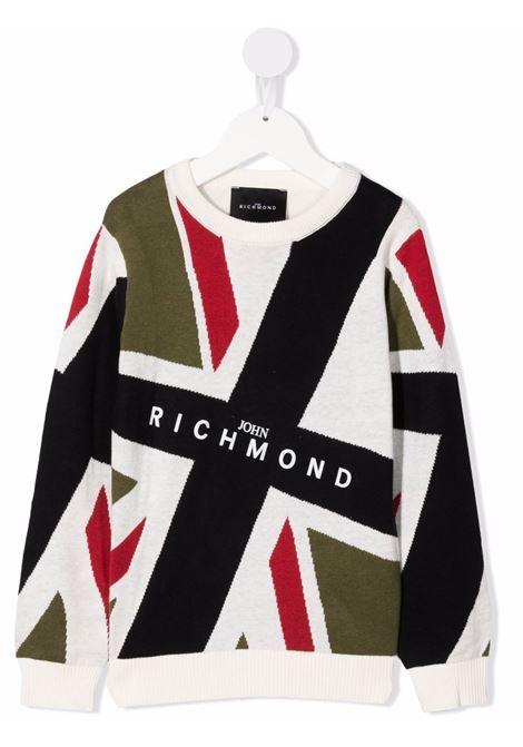 john richmond maglia bandiera woburne john richmond | Maglia | RBA21070MAW5328