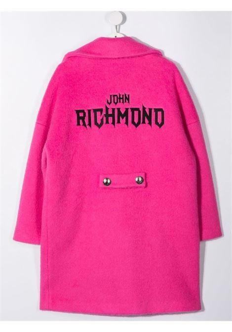john richmond cappotto con patch blurt john richmond   Cappotto   RGA21088CPW5325T