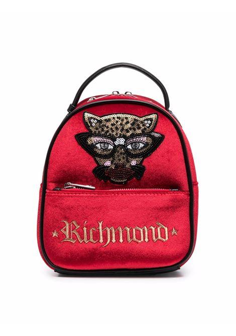 john richmond zaino velluto con patch rachel john richmond | Zaino | RGA21128ZAW5322