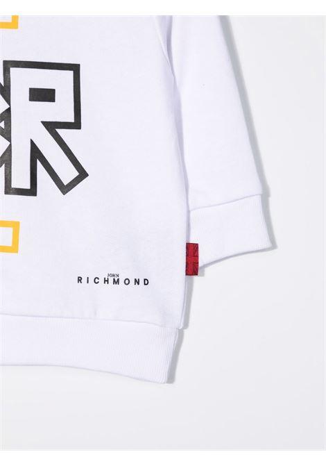 john ricmond felpa girocollo con scritta logo john richmond | Felpa | RIA21001FEW0150