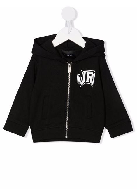 john ricmond felpa aperta cappuccio con scritta logo john richmond | Felpa | RIA21022FEW3079