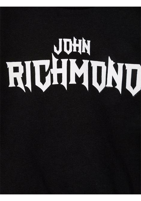 john ricmond felpa girocollo con scritta logo john richmond | Felpa | RIA21024FEW3079