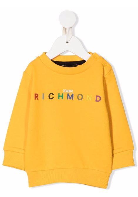 john ricmond felpa girocollo con scritta logo john richmond | Felpa | RIA21057FEW5379