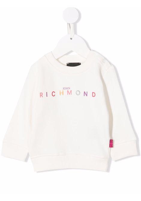 john ricmond felpa girocollo con scritta logo john richmond | Felpa | RIA21064FEW0680
