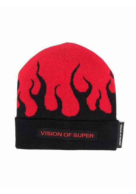 vision of super | Hat | BEANIEFLREDBR