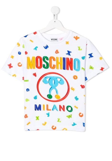 MOSCHINO KIDS | T shirt | HYM029LBA0083327