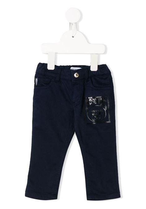 MOSCHINO KIDS | Trousers | MOP02MLRC0140016