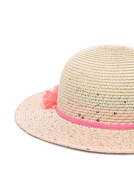 cappello in paglia con fiori billieblush Billieblush | Cappello | U11087Z41