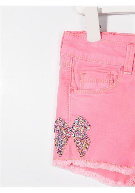 shorts con applicazioni pailettes multicolor billieblush Billieblush | Shorts | U14424462