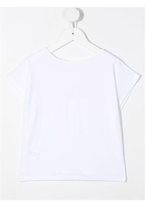 tshirt con nodo e stampa logo billieblush Billieblush | Tshirt | U1587010B