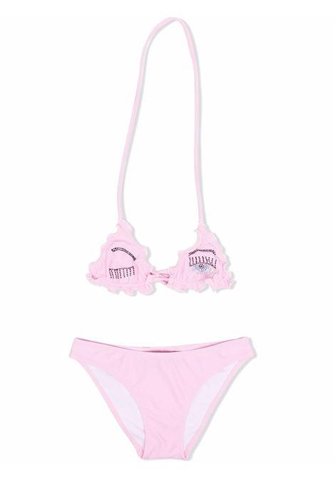 chiara ferragni bikini con occhi logo CHIARA FERRAGNI | Costume | CFKBK002PNK
