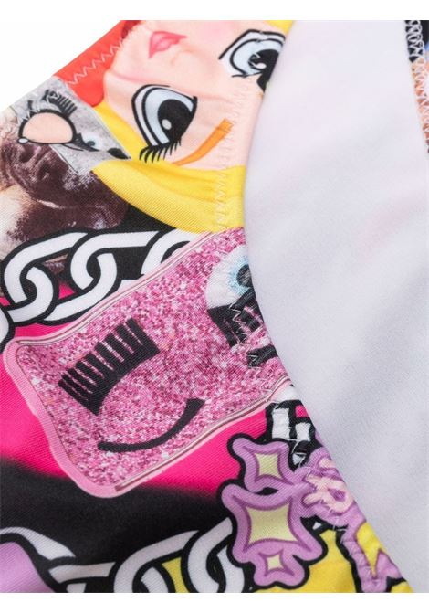 chiara ferragni bikini stampato CHIARA FERRAGNI | Costume | CFKBK006MLTT