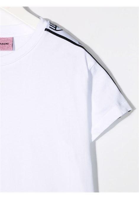 chiara ferragni pantalone felpa con bande su spalle CHIARA FERRAGNI | Tshirt | CFKT028WH