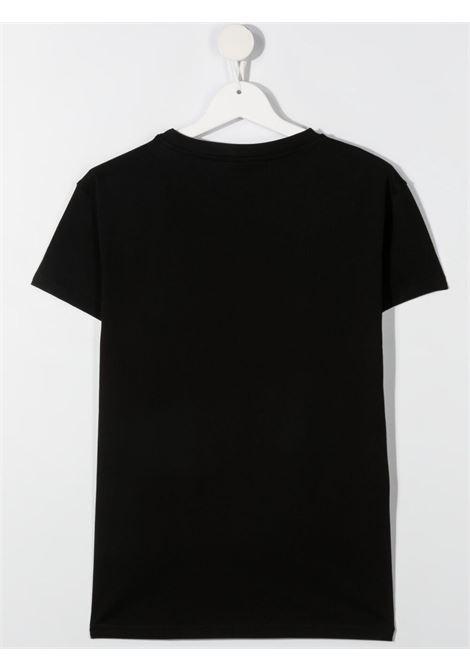 chiara ferragni tshirt con patch  logo masotte CHIARA FERRAGNI | Tshirt | CFKT034BLKT