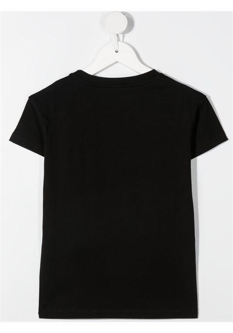 chiara ferragni tshirt con patch  logo masotte CHIARA FERRAGNI | Tshirt | CFKT034BLK