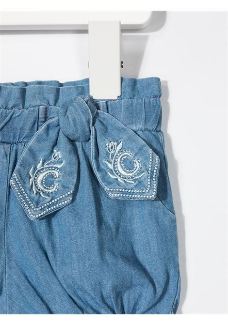 shorts in denim  chloe' CHLOE' | Shorts | C04187Z10