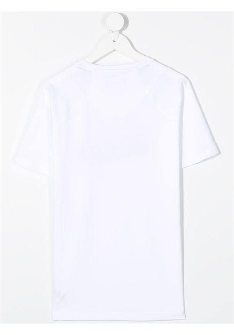 dkny tshirt con stampa scritta logo DKNY | Tshirt | D25D2710BT