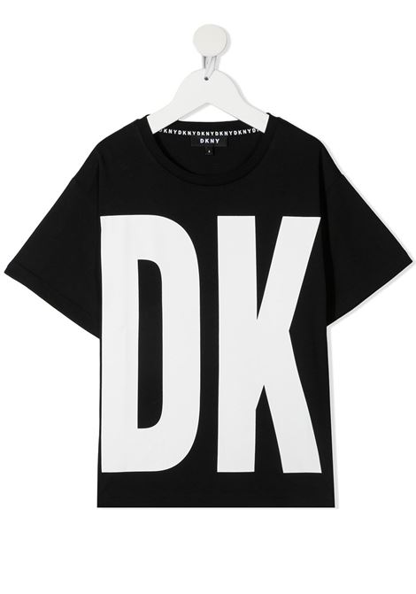 dkny tshirt con maxi stampa logo DKNY | Tshirt | D25D2909B