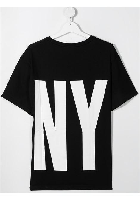 dkny tshirt con maxi stampa logo DKNY | Tshirt | D25D2909BT